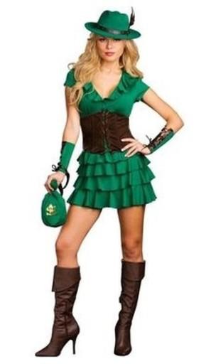 Strój Dziewczyna Robin Hood Lady Marion S/M