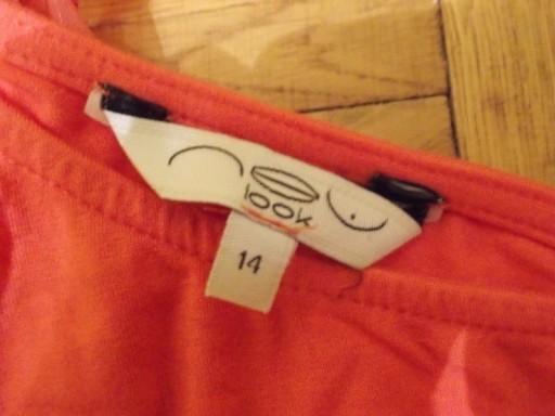 Sukienka na jedno ramię tuba róż New Look 38 / 40