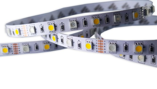 Taśma 5050 300 LED RGBWW kolor + biały ciepły 1m