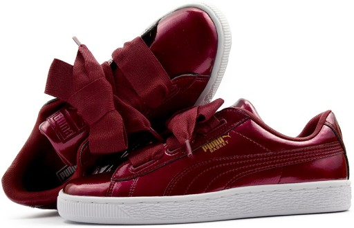 Buty Puma Basket Heart Glam Jr 364917 02 r.38,5
