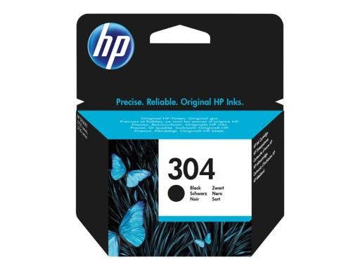 HP Tusz 304 Black oryginalny N9K06AE