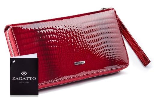7878d8a45b26e Portfel damski Zagatto ochrona kart płatnicznych 6996855399 - Allegro.pl