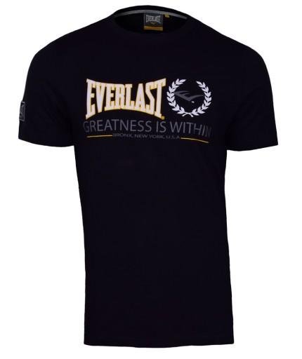 NOWA koszulka EVERLAST czarna EVR4421 r. L