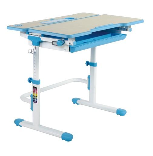 Regulowane Biurko Dla Dziecka Lavoro L Blue 6965778035 Allegropl
