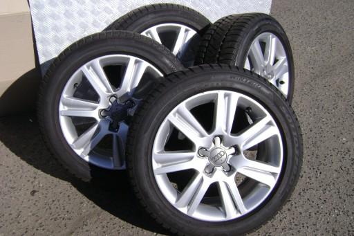 Felgi Aluminiowe 18 Audi A4 B8 Modifizierte Autogalerie