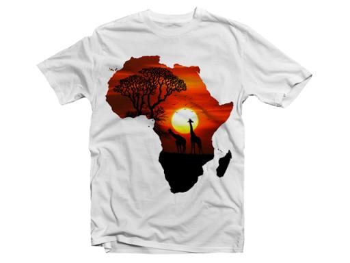 Koszulka T Shirt Afryka Kontynent R M 6993764001 Allegro Pl