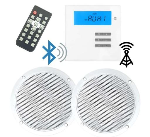 P2 Radio Do łazienki Kuchni Z Bluetoothsdusb Mp3