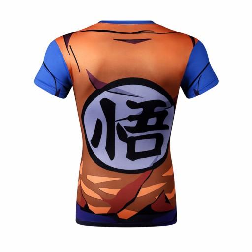 Dragon Ball Rashguard Termoaktywna Goku 7491434663 Allegro Pl