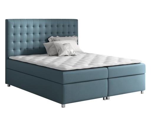 łóżko 180x200 Asti G Kontynentalne łoże Małżeńskie