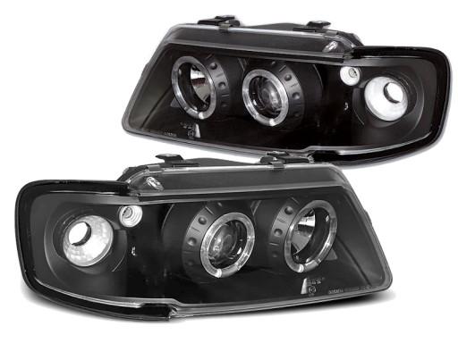 Audi A3 96 00 Lampy Soczewkowe żarówki Gratis