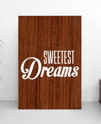 Sweet Dream Plakaty Obrazki Do Sypialni 20x35