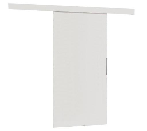 Drzwi przesuwne naścienne MULTI 90 białe zabudowa