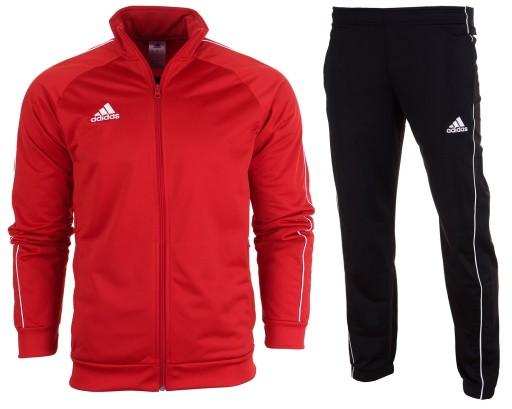 Adidas Dres Junior Spodnie Bluza Core 18 r. 164 Ceny i