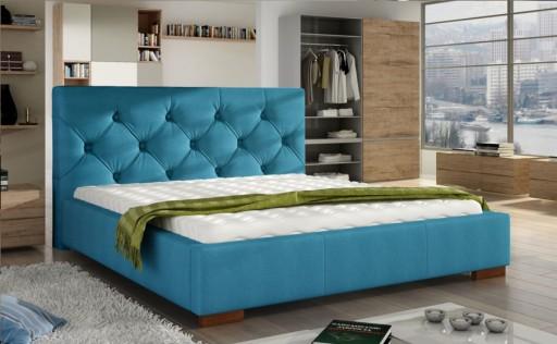 łóżko Tapicerowane Podwójne Elektra 160x200