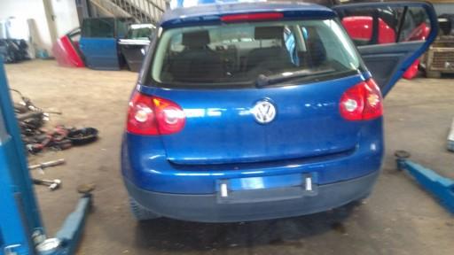 Tylny Zderzak Tyl Vw Golf V 5 Lc5j Niebieski Laz Allegro Pl