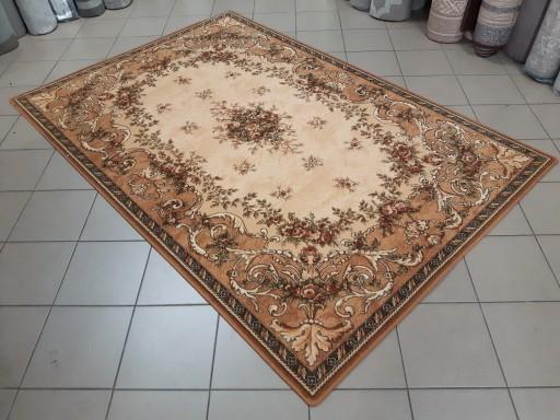 Dywan wełniany ISFAHAN DAFNE 160x240 sahara beżowy