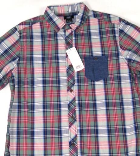 ** F&F **_M_Modna, super koszula w kratkę_NOWA 9928674362 Odzież Męska Koszule LV OAHNLV-2