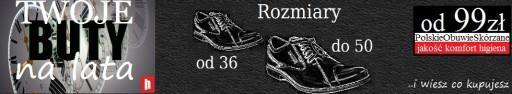 HUSAR półbuty męskie SKÓRA PL173 czarne LICO 48 7356104145