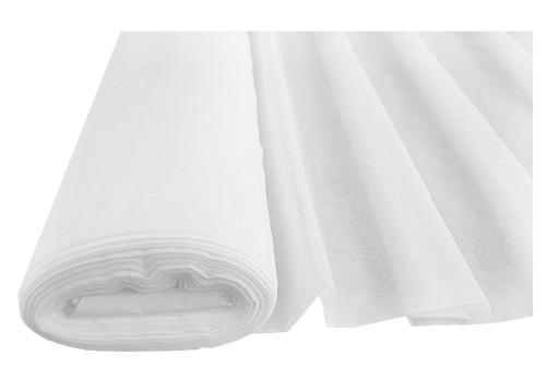 Woal Gładki Na Firany Biały Kolorowy 300cm Tkanina