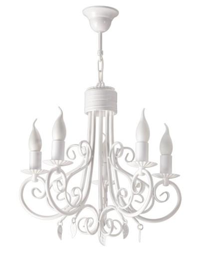 Biała Lampa żyrandol Do Pokoju Dziecięcego Yakert5 7112117986