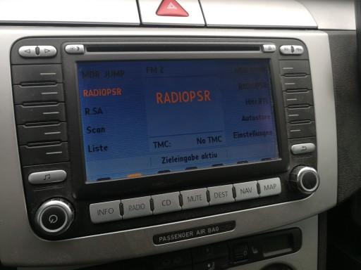 Niesamowite RADIO NAWIGACJA VW PASSAT B6 TOURAN GOLF ORYGINAŁ 7388429506 AO28