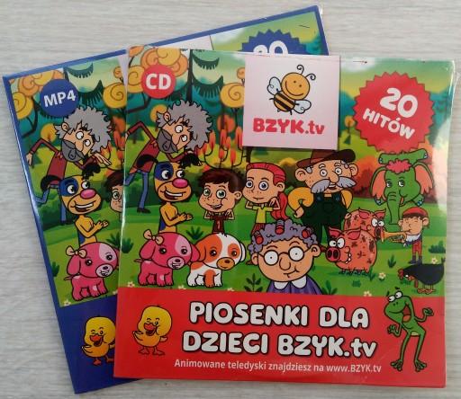 Plyta Cd Animacje Mp4 Dla Dzieci Bzyk Tv 7573839659 Allegro Pl
