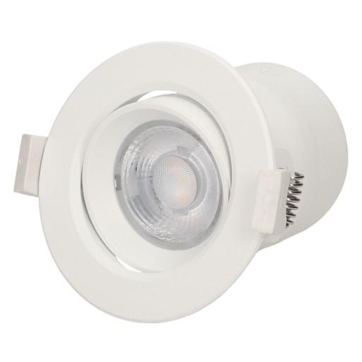 Ruchoma oprawa podtynkowa LED 9W ze ściemniaczem