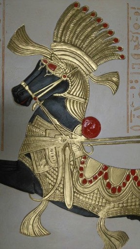 KADESZ PŁASKORZEŹBA EGIPSKA PŁASKORZEŹBY EGIPSKE
