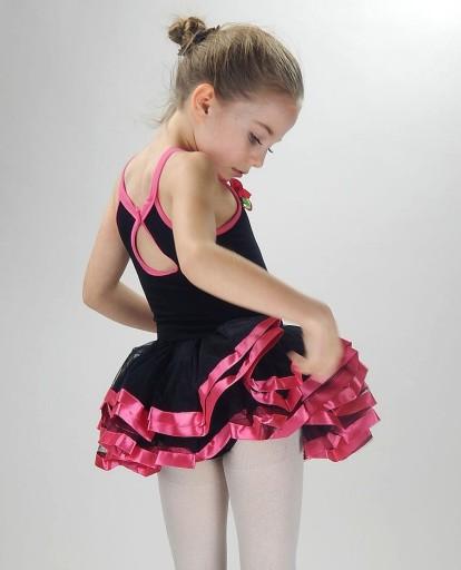 sukienka taniec BALET do tańca  SESJA sk642 4-5L