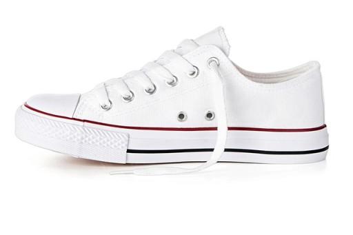 Buty sportowe Trampki męskie Tenisówki Białe 44