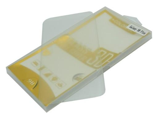 SZKŁO HARTOWANE FULL 3D SAMSUNG G955 S8+ PLUS TRAN