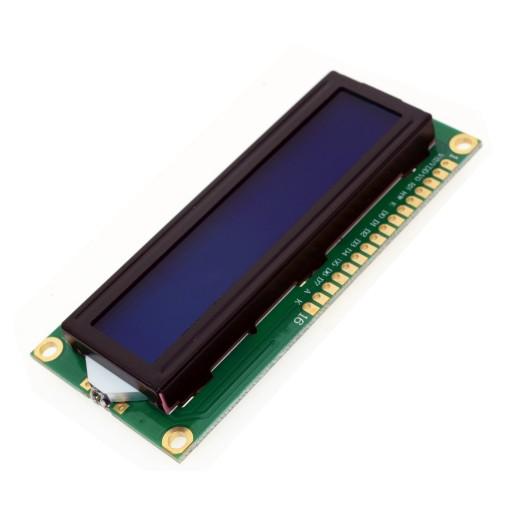 ARDUINO Wyświetlacz LCD 1602 2x16 niebieski FV