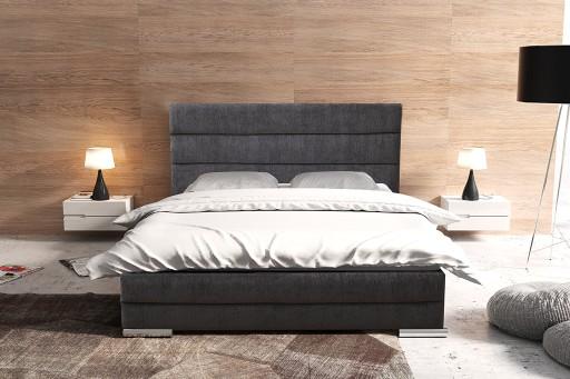 łóżko Tomek Tapicerowane 160200 Zagłówek 111 Cm