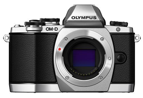Aparat cyfrowy Olympus OM-D E-M10 srebrny body