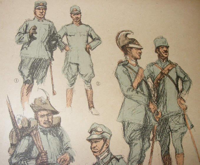 обмундирование военное Италия 1914-1916 F04381 доставка из Польши Allegro на русском
