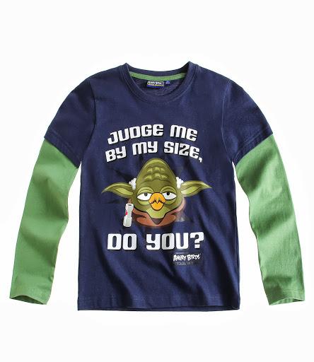 Koszulka ANGRY BIRDS - STAR WARS Bluzka roz 116 6860937032 Dziecięce Odzież MA BRROMA-7