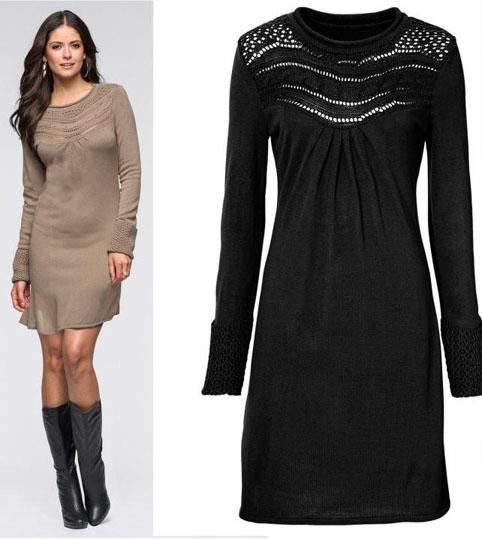 Elegancka DZIANINA sukienka BODYFIRT!!! R - 36/38 9803768196 Odzież Damska Sukienki wieczorowe QP BCIFQP-1