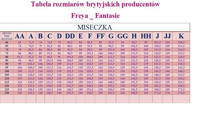 WACOAL EU 70E /UK 32DD MARKOWA BIELIZNA 119001* 9649542304 Bielizna Damska YK JEZOYK-4