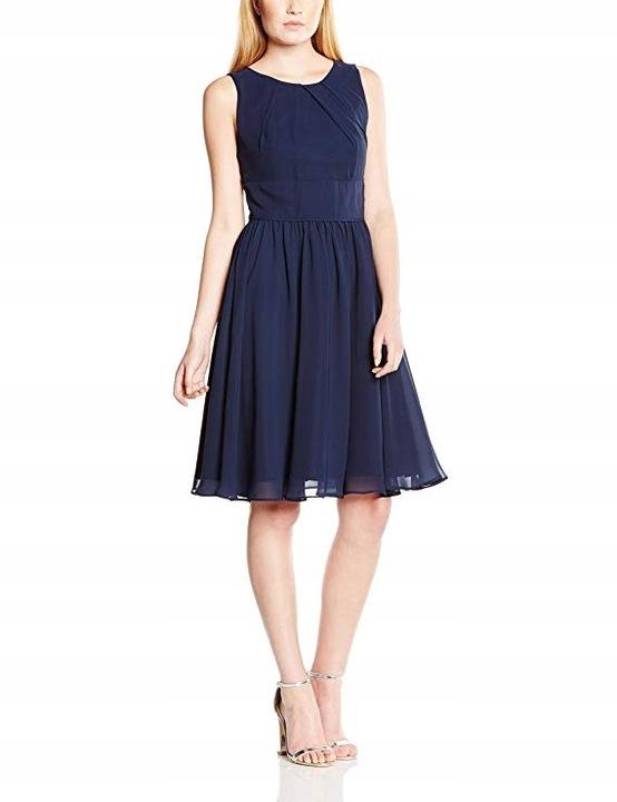 Elegancka sukienka Swing, r. 40 koktajlowa 7946728548 Odzież Damska Sukienki wieczorowe YL YDROYL-2